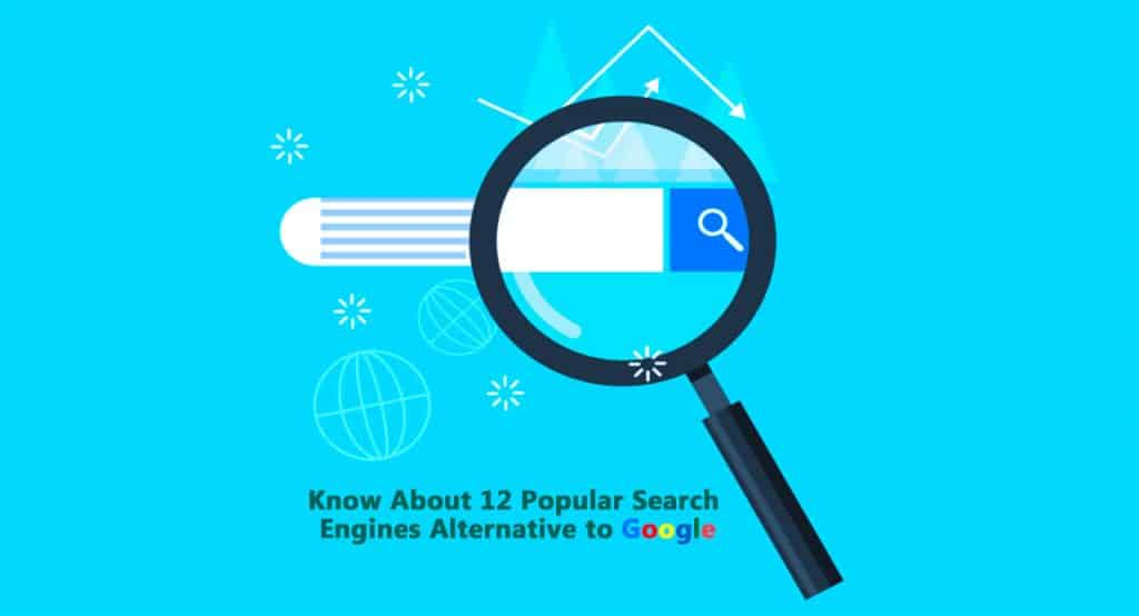 12 without Google Search Engine - Blog to Success