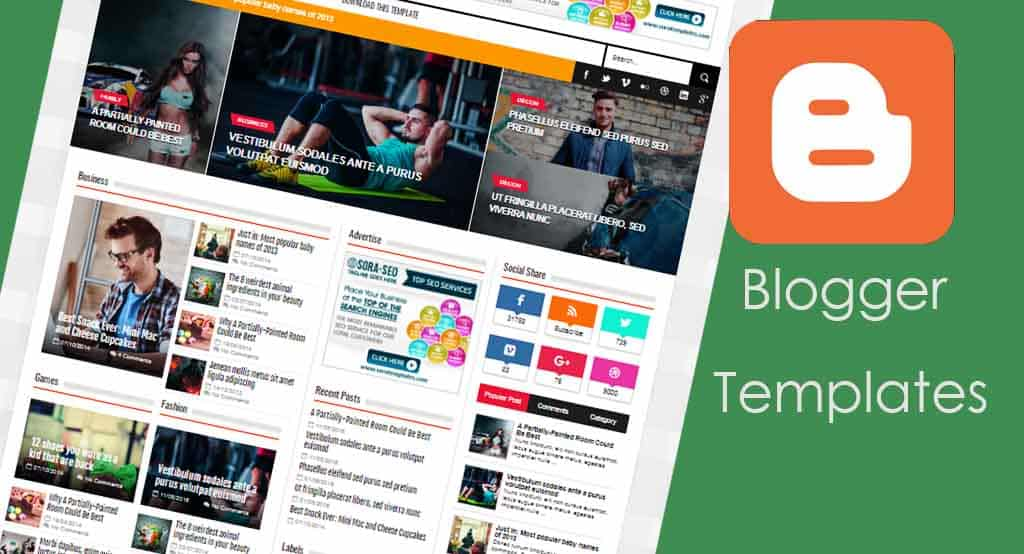 What Blogger Template to Use - Blog To Success