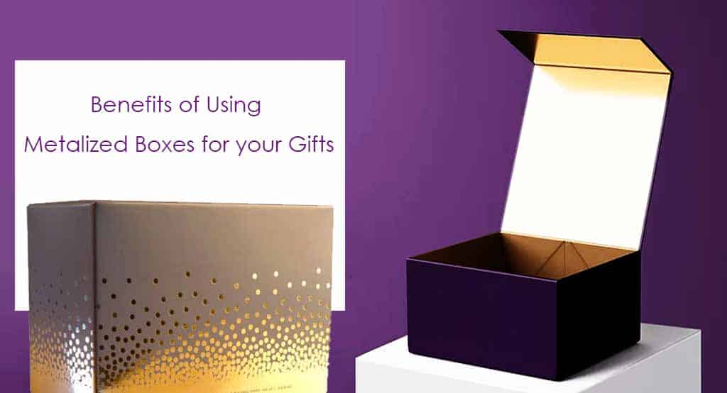 Metalized Boxes for Gifts - Blog To Success
