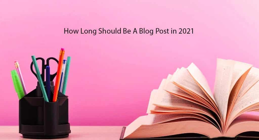 how long should be a blog post