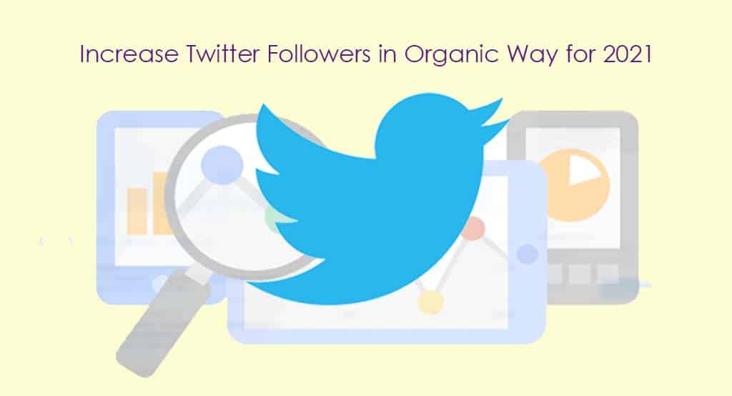 Increase Twitter Followers in Natural Way