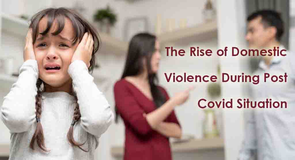 Domestic violence rise after COVID