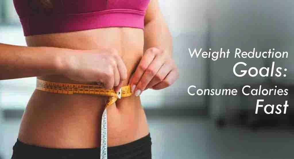 Weight Reduction Goals Consume Calories Fast