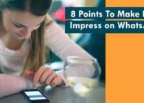Points To Make Her Impress on WhatsApp