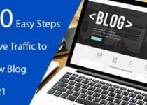 Easy Steps to Drive Traffic to a New Blog