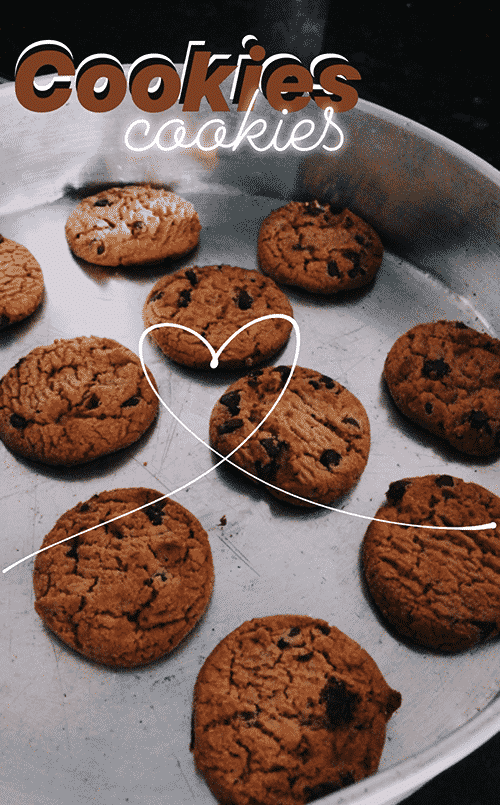cookies made with love Story